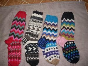 Nepalese made woolen socks